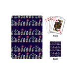 Cute Cactus Blossom Playing Cards (Mini)  Back