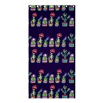 Cute Cactus Blossom Shower Curtain 36  x 72  (Stall)  33.26 x66.24 Curtain