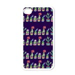 Cute Cactus Blossom Apple iPhone 4 Case (White) Front