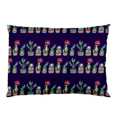 Cute Cactus Blossom Pillow Case (Two Sides)