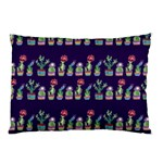 Cute Cactus Blossom Pillow Case (Two Sides) Back