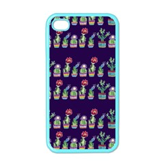 Cute Cactus Blossom Apple iPhone 4 Case (Color)