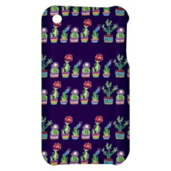 Cute Cactus Blossom Apple iPhone 3G/3GS Hardshell Case