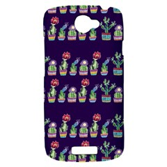 Cute Cactus Blossom HTC One S Hardshell Case