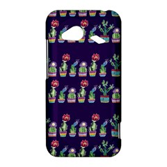 Cute Cactus Blossom HTC Droid Incredible 4G LTE Hardshell Case