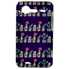 Cute Cactus Blossom HTC Incredible S Hardshell Case