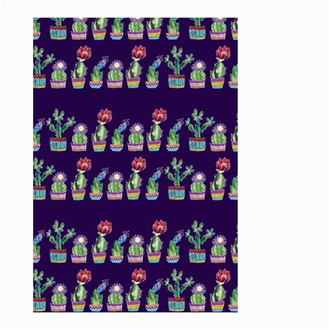 Cute Cactus Blossom Small Garden Flag (Two Sides)