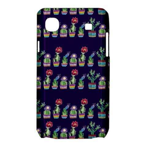 Cute Cactus Blossom Samsung Galaxy SL i9003 Hardshell Case