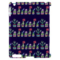 Cute Cactus Blossom Apple iPad 2 Hardshell Case (Compatible with Smart Cover)