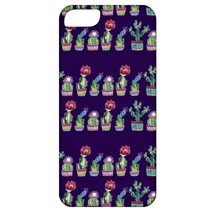 Cute Cactus Blossom Apple iPhone 5 Classic Hardshell Case
