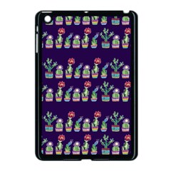 Cute Cactus Blossom Apple Ipad Mini Case (black)