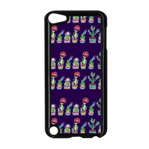 Cute Cactus Blossom Apple iPod Touch 5 Case (Black)