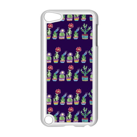 Cute Cactus Blossom Apple iPod Touch 5 Case (White)