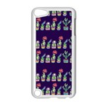 Cute Cactus Blossom Apple iPod Touch 5 Case (White) Front