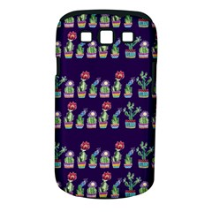 Cute Cactus Blossom Samsung Galaxy S III Classic Hardshell Case (PC+Silicone)