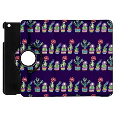Cute Cactus Blossom Apple iPad Mini Flip 360 Case