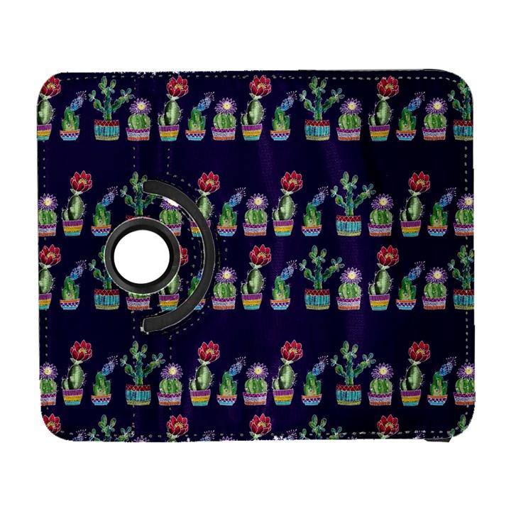 Cute Cactus Blossom Samsung Galaxy S  III Flip 360 Case