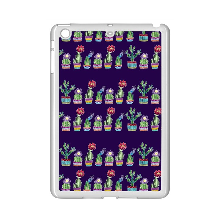 Cute Cactus Blossom iPad Mini 2 Enamel Coated Cases