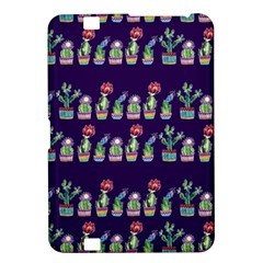 Cute Cactus Blossom Kindle Fire Hd 8 9
