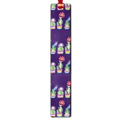 Cute Cactus Blossom Large Book Marks