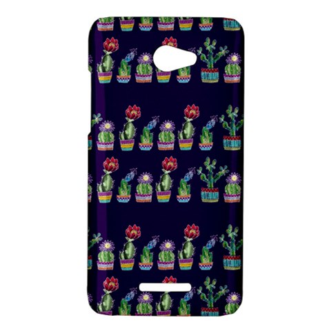 Cute Cactus Blossom HTC Butterfly X920E Hardshell Case