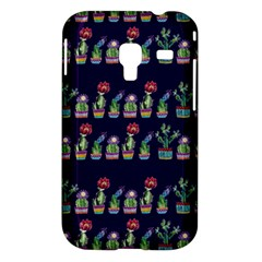 Cute Cactus Blossom Samsung Galaxy Ace Plus S7500 Hardshell Case