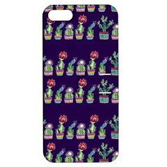 Cute Cactus Blossom Apple iPhone 5 Hardshell Case with Stand