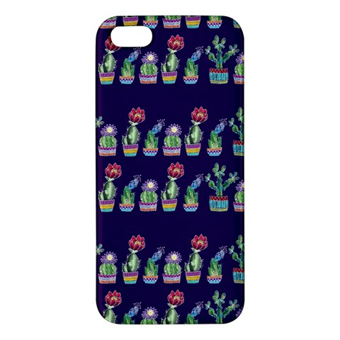 Cute Cactus Blossom Apple iPhone 5 Premium Hardshell Case