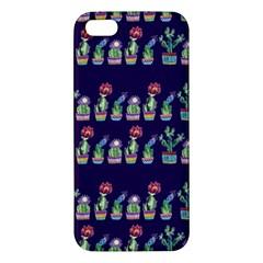 Cute Cactus Blossom Apple Iphone 5 Premium Hardshell Case
