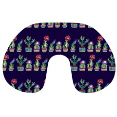 Cute Cactus Blossom Travel Neck Pillows