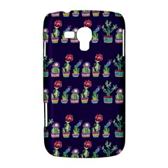 Cute Cactus Blossom Samsung Galaxy Duos I8262 Hardshell Case
