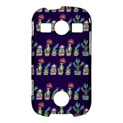 Cute Cactus Blossom Samsung Galaxy S7710 Xcover 2 Hardshell Case