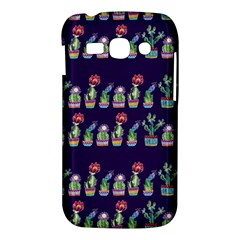 Cute Cactus Blossom Samsung Galaxy Ace 3 S7272 Hardshell Case