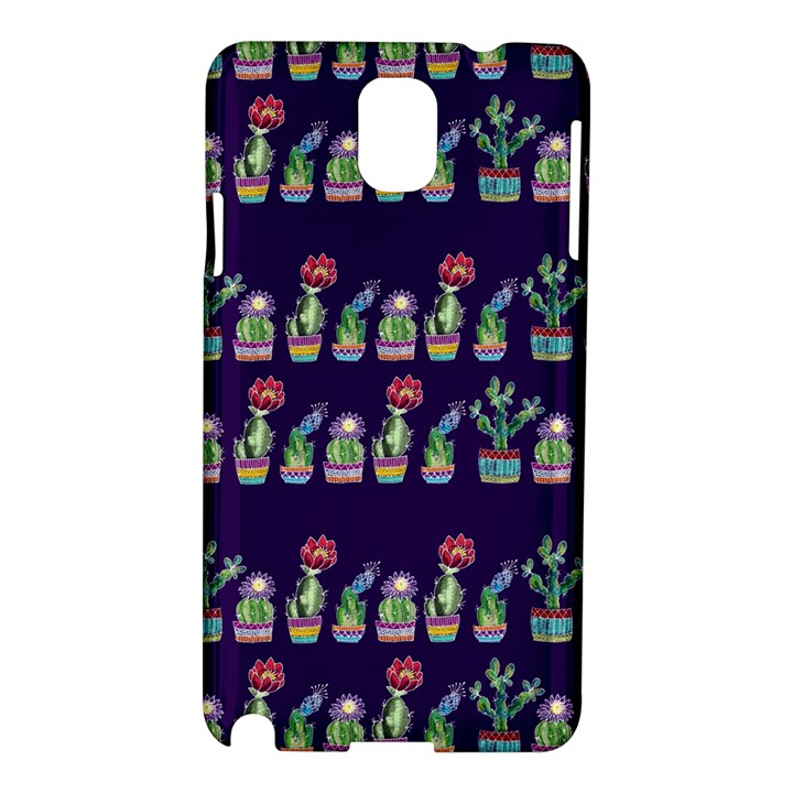 Cute Cactus Blossom Samsung Galaxy Note 3 N9005 Hardshell Case