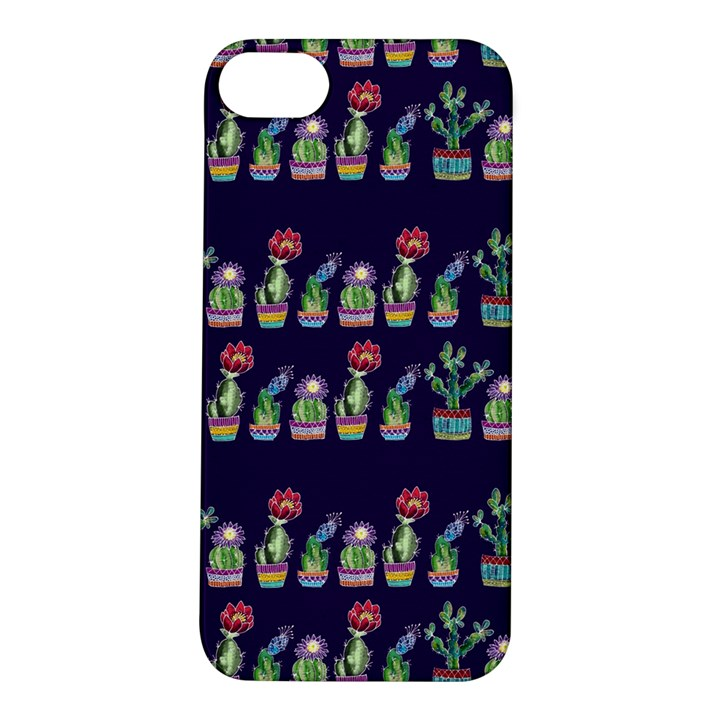 Cute Cactus Blossom Apple iPhone 5S/ SE Hardshell Case