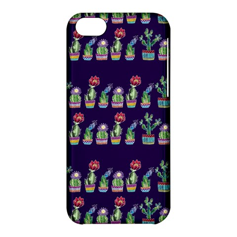Cute Cactus Blossom Apple iPhone 5C Hardshell Case