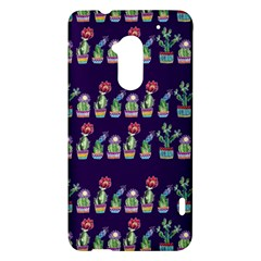 Cute Cactus Blossom HTC One Max (T6) Hardshell Case