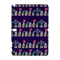 Cute Cactus Blossom Samsung Galaxy Note 10.1 (P600) Hardshell Case