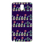 Cute Cactus Blossom Samsung Galaxy Note 3 N9005 Hardshell Back Case Front