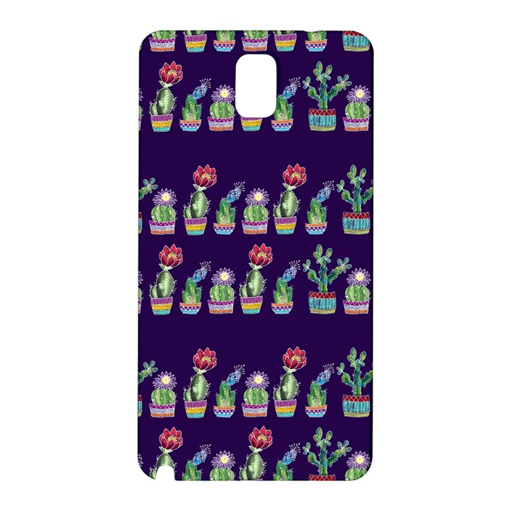 Cute Cactus Blossom Samsung Galaxy Note 3 N9005 Hardshell Back Case