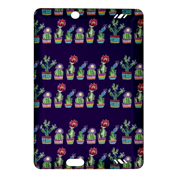 Cute Cactus Blossom Amazon Kindle Fire HD (2013) Hardshell Case