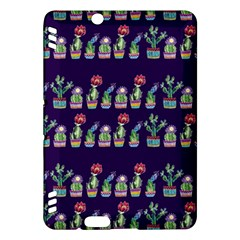 Cute Cactus Blossom Kindle Fire HDX Hardshell Case