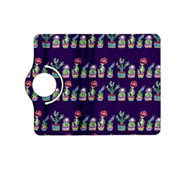 Cute Cactus Blossom Kindle Fire Hd (2013) Flip 360 Case