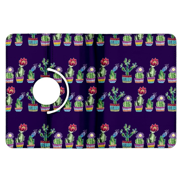Cute Cactus Blossom Kindle Fire HDX Flip 360 Case