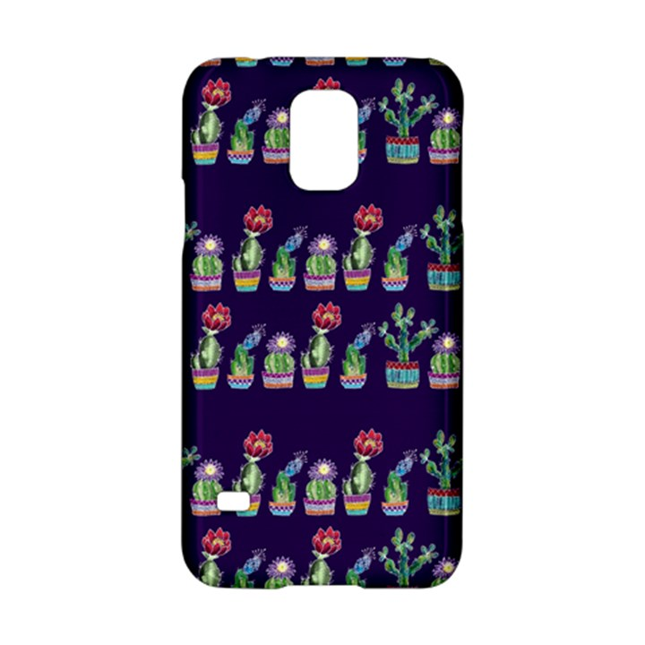 Cute Cactus Blossom Samsung Galaxy S5 Hardshell Case