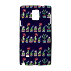 Cute Cactus Blossom Samsung Galaxy Note 4 Hardshell Case