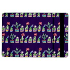 Cute Cactus Blossom iPad Air 2 Flip