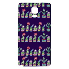 Cute Cactus Blossom Galaxy Note 4 Back Case