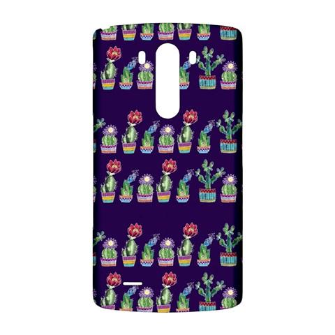 Cute Cactus Blossom LG G3 Back Case
