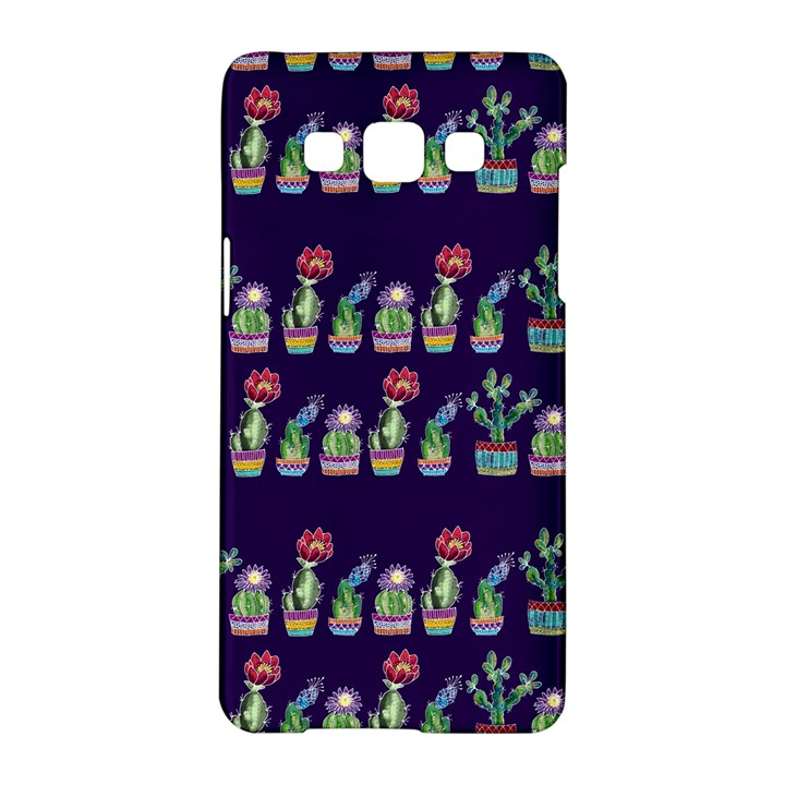Cute Cactus Blossom Samsung Galaxy A5 Hardshell Case